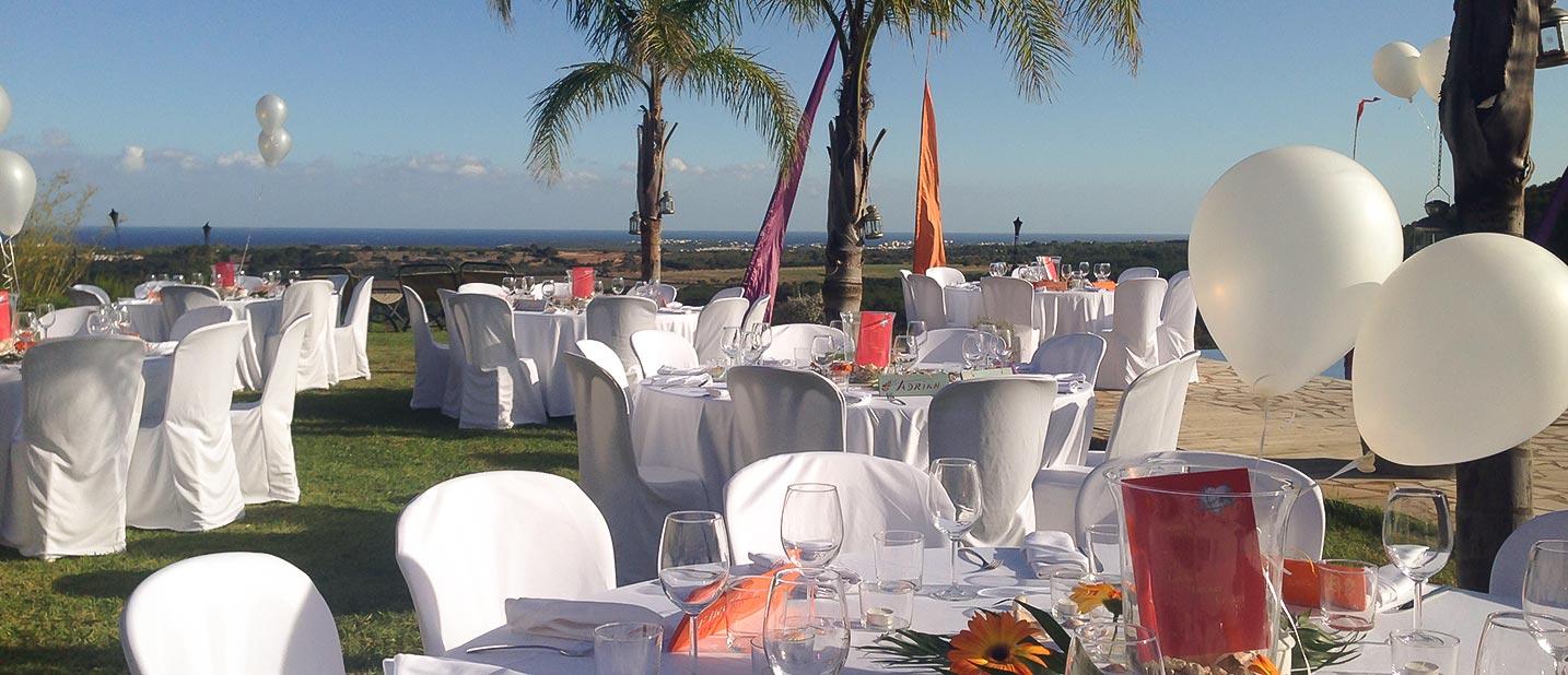 Events und Hochzeiten